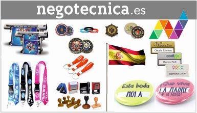 Chapas, pins, medallas, sellos, banderas , impresión gran formato,...