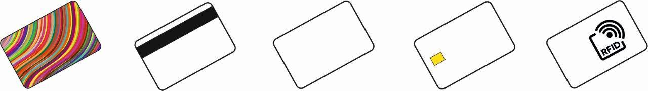 Fábricación de tarjetas de plástico