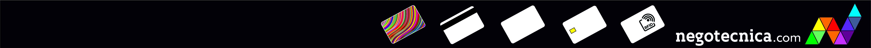 Fábrica de tarjeta plástcas. Negotecnica: accesorios para la identifcacón.